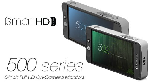 Incredibly sharp and light SmallHD 500 Series Monitors