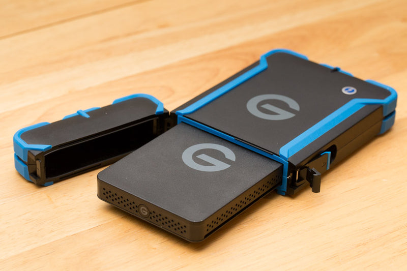 G-Tech new Rugged lineup featuring the G-Drive ev ATC