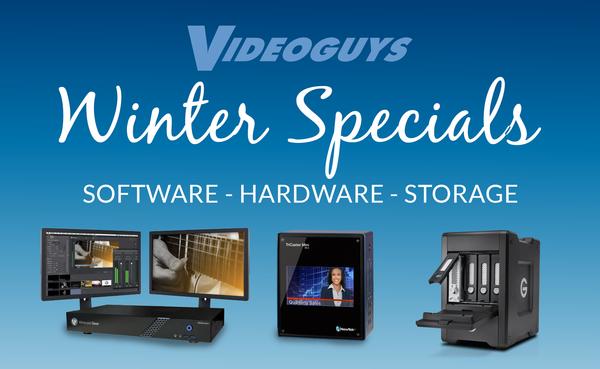 Winter Deals on Software Hardware and Storage