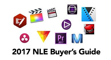 Nonlinear Editing Buyer's Guide of 2017