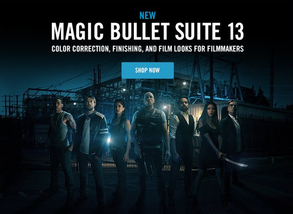 Red Giant Announces New Magic Bullet Suite 13