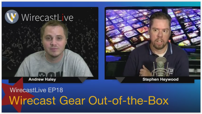 In Depth Video Review of Telestream Wirecast Gear
