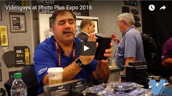 Videoguys at Photo Plus Expo 2016
