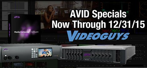 Avid Specials Available now through 12/31/15