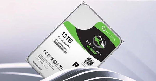 Seagate's Launches 12TB BarraCuda Pro: Fastest and Largest Ever