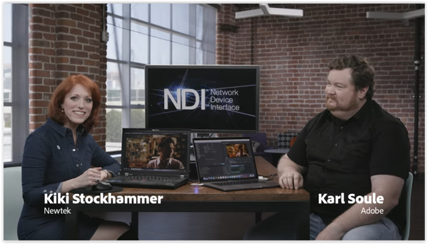 Amazing! NewTek NDI for Adobe Premiere & After Effects