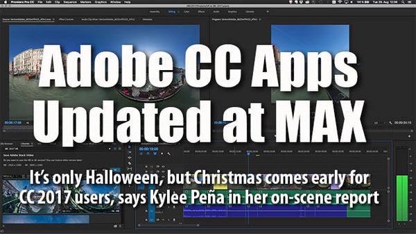 Adobe Launches Video Apps Update at MAX