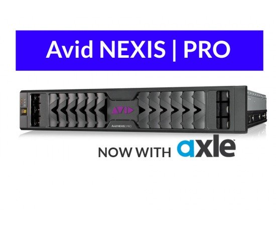 Avid NEXIS PRO Limited Time Special! Collaborate in Real Time
