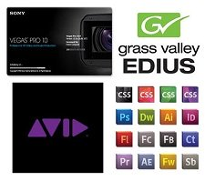 Adobe vs. Avid vs. Grass Valley vs. Sony vs. Apple