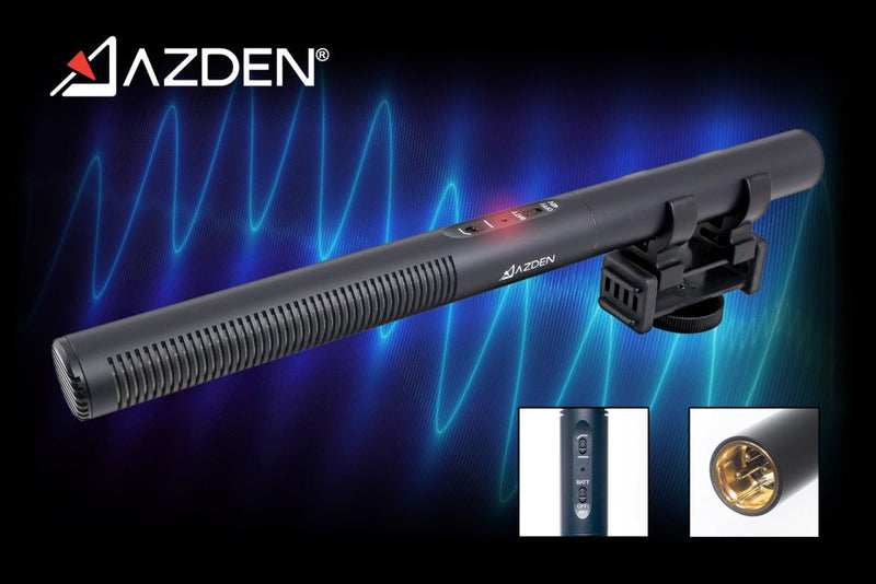New at NAB: Azden Raises The Bar With New SGM-250 Professional Dual Powered Shotgun Microphone