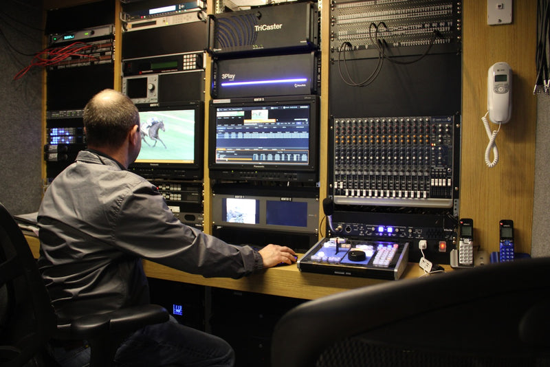 Case Study: HRTV Delivers the Fastest Two Minutes in Sports with NewTek TriCaster and 3Play