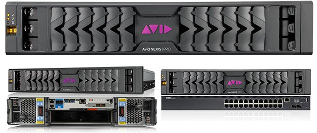 Avid NEXIS Pro and Post Production Bundles