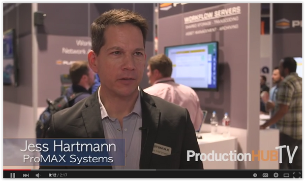 ProMAX Systems NAB Interview featuring Platform Portable