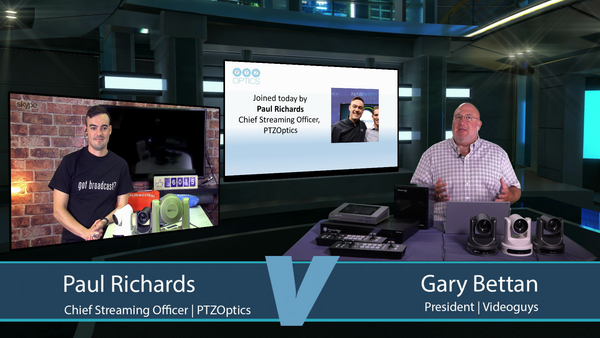 PTZ Camera Integration with Live Switchers | Videoguys News Day 2sDay LIVE Webinar (08-06-19)