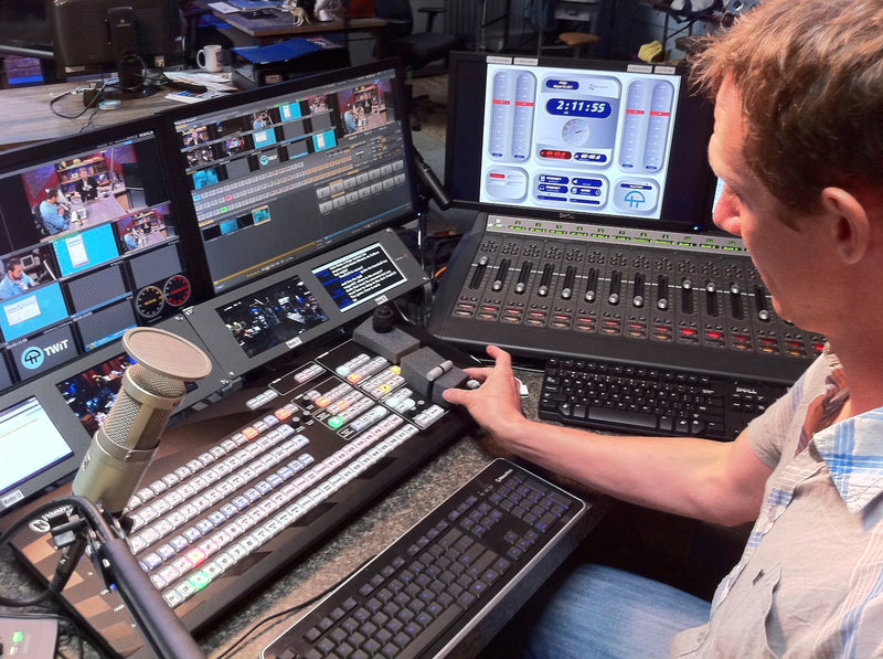 NewTek TriCaster powers This Week in Tech - TWiT TV