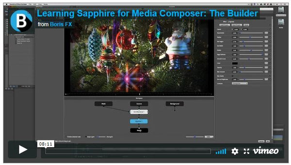 Boris FX Tutorial: Sapphire Builder for Avid Media Composer