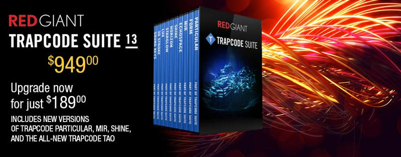 Introducing Red Giant Trapcode TAO and Trapcode Suite 13