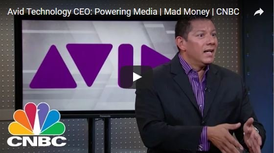Watch Video of Avid CEO Address Expansion of Avid Technology for Better Media Workflow