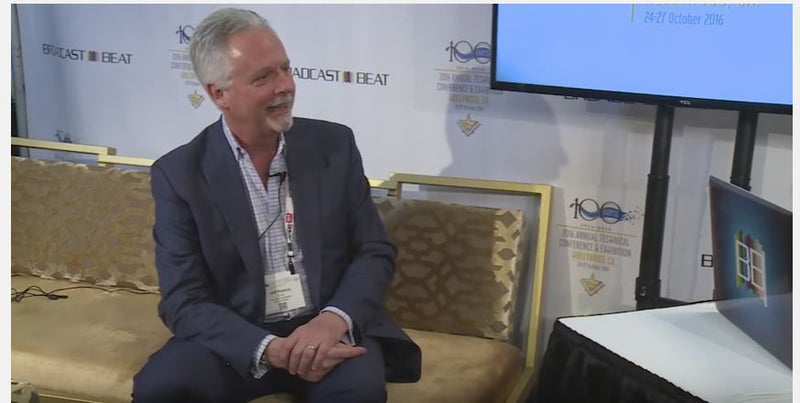 Avid's Jeff Rosica Interviewed at SMPTE 2016 by Broadcast Beat