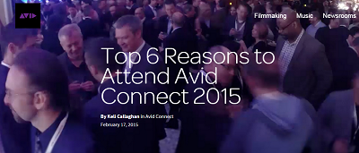 Top 6 Reasons to Attend Avid Connect 2015