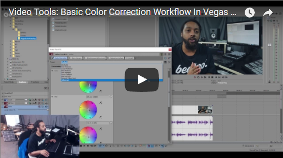 VEGAS PRO Tutorial: Basic Color Correction