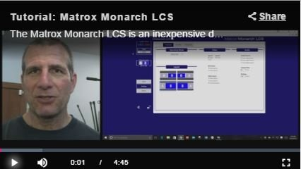 Steaming Media Reviews Matrox Monarch LCS
