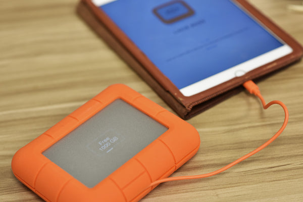 LaCie Rugged BOSS is an ideal solution for professionals out in the field