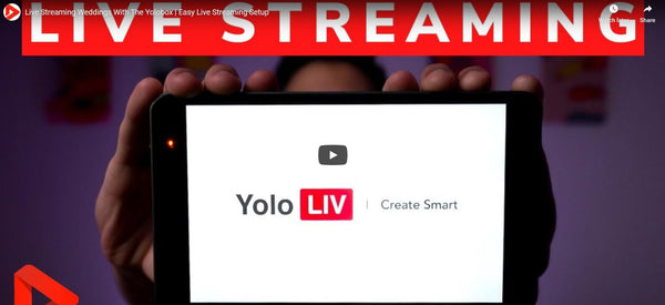 Quick look: Yolobox for Streaming Weddings