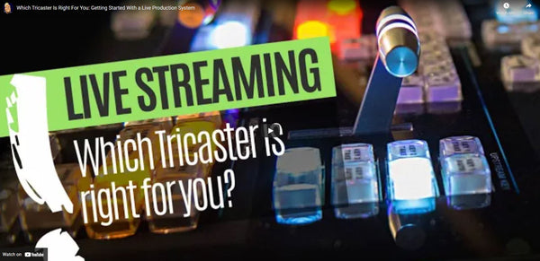 Is The NewTek TriCaster Mini 4K Live Production System Right For You?