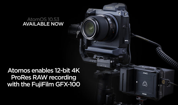 Atomos Ninja V enables 12-bit 4K ProRes RAW with Fujifilm GFX100
