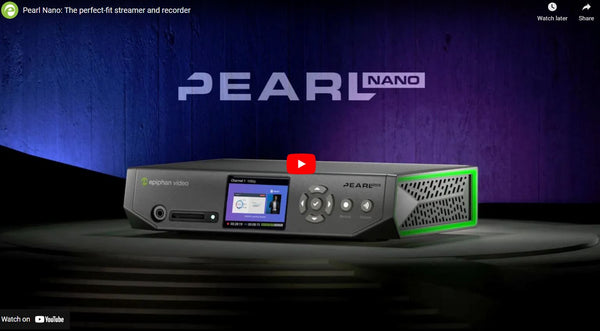 Epiphan Pearl Nano Offers the Ultimate Blend of Portability and Versatility