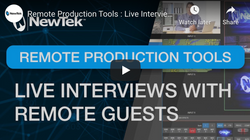 NewTek: Using Skype TX for Live Interviews with Remote Guests.