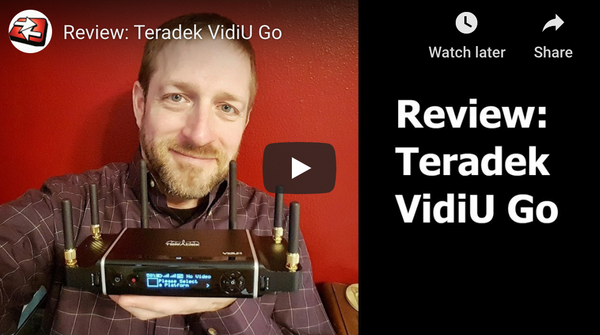 Teradek VidiU Go Hands on Review
