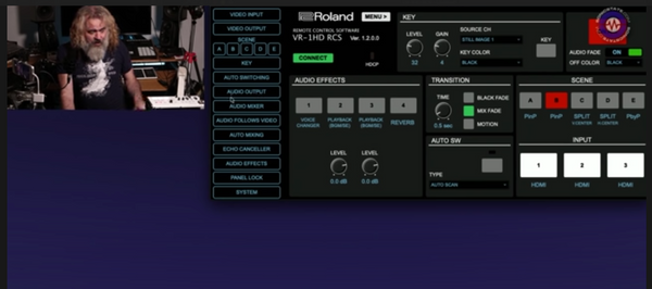 Hands on with Roland VR1-HD Video Mixer