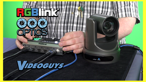 PTZ Control Tutorial: RGBlink mini+ and PTZOptics