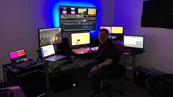 NewTek NDI KVM Technology Helps With Social Distancing