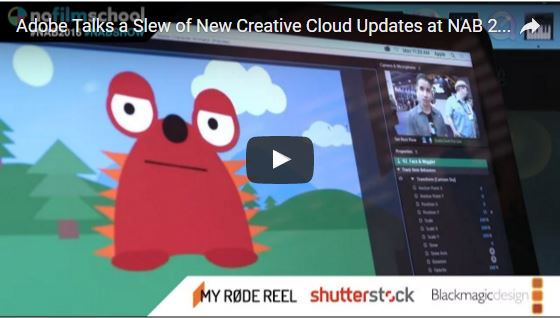 Adobe Creative Cloud Updates Revealed in Nofilmschool Video Interview