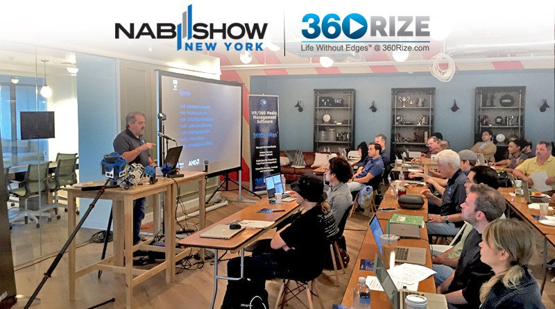 Attend a Virtual Reality Workshop at NAB New York