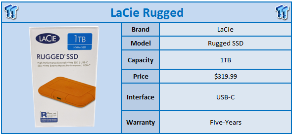 LaCie Rugged NVMe SSD: Smallest Rugged Portable SSD to Date