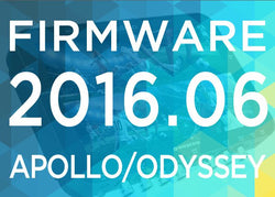 New Features for Apollo, Odyssey7Q+ in Firmware Update 2016.06