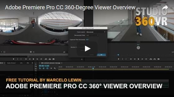 Watch This Video Overview of Adobe Premiere Pro CC 360-Degree Viewer