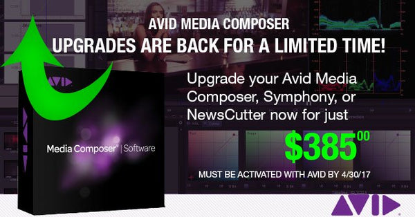 Avid Media Composer Reinstatement Promotion! PhraseFind & ScriptSync are back!!