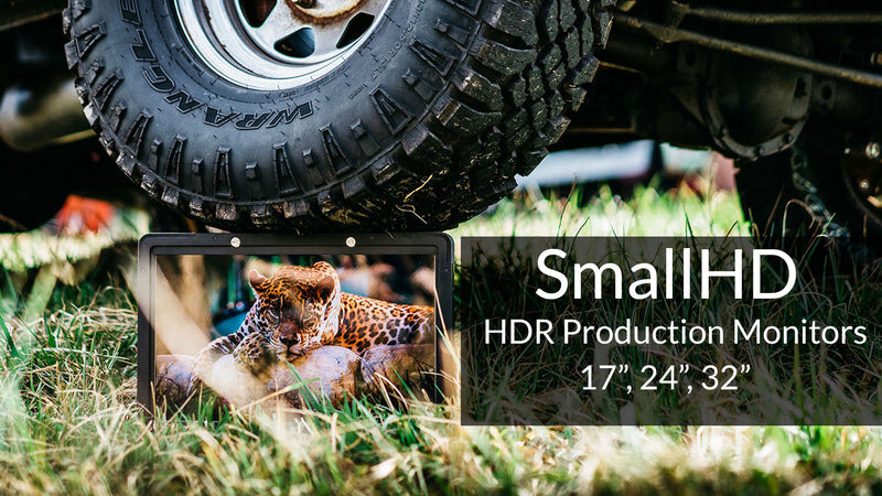SmallHD's HDR Production Monitors Premiere at Cinegear
