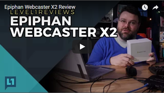 Watch now: Epiphan Webcaster X2 Review