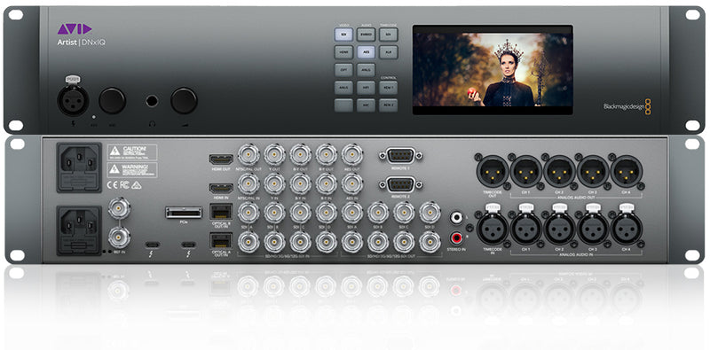Avid Artist | DNxIQ is Next-Generation Video/Audio Interface with 4K Monitoring