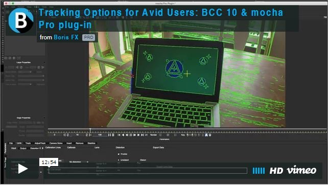 Boris FX BCC 10 & mocha Pro Tutorial: Tracking Options