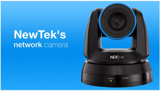 Did you hear? NewTek Now Makes Cameras!