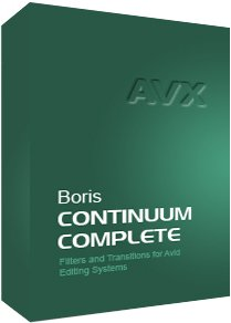 New Boris Continuum Complete 8 AVX Promotions for April 2012