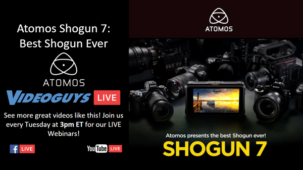 The Atomos Shogun 7 is the Best Shogun Ever