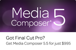 Avid Announces New Ongoing Crossgrade Offer for Final Cut Pro Users